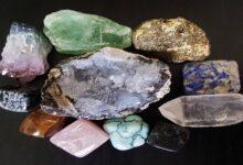 أنواع حجر الذهب الخام