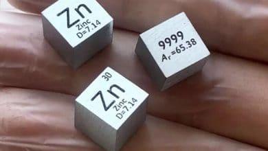 معدن الزنك (Zinc Metal)