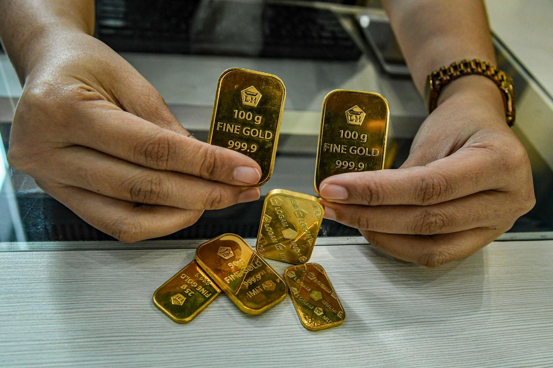 شراء سبائك الذهب من بنك البلاد