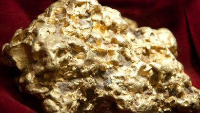 كيف استخراج الذهب من الحجر